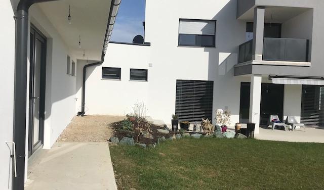 Terrassengestaltung:  Vorher - Nachher