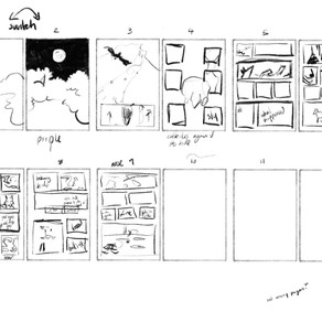 rough Script and storyboard