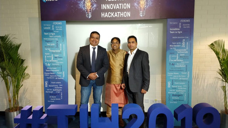 Grene Robotics partnered with Cognizant for Telstra Innovation Hackathon 2019 #TIH2019