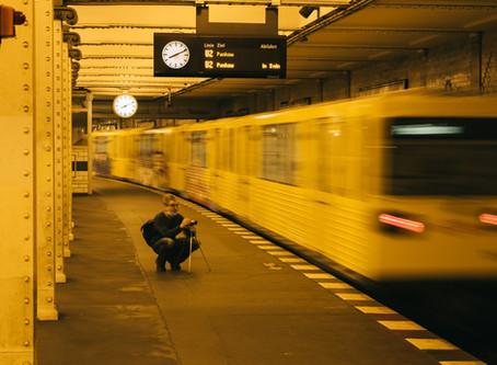 """Streetphotography: Berliner U-Bahn  (1. Meetup der Fotogruppe """"Berlin"""")"""