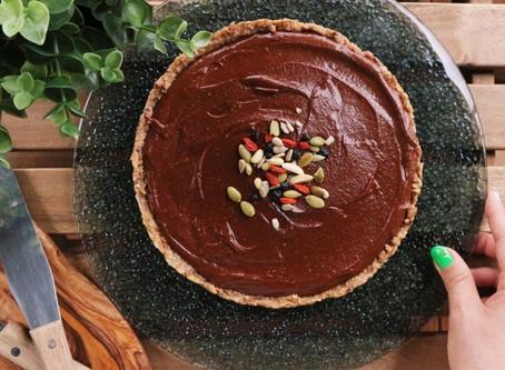 ギルトフリーRawチョコレートケーキ