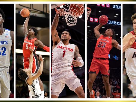 NBA nabor 2020; 1. del
