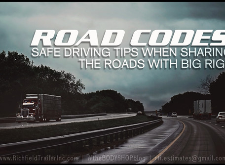 ROAD CODES | Safely Sharing Roads with Big Rigs