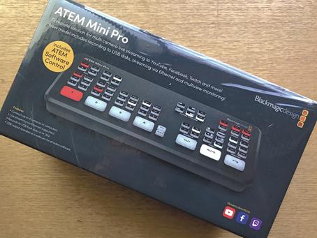 ATEM Mini Pro試験導入