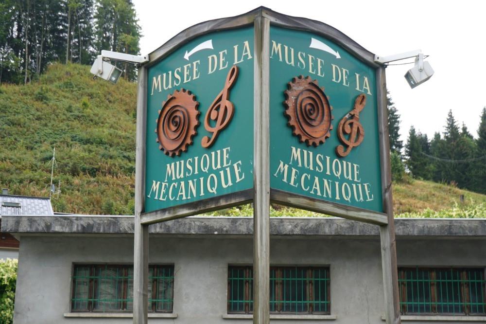 לה ג'ט, לז'ה, מוזיאון כלי הנגינה המכאניים
