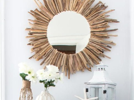 How to Create a Mixed Media Mirror