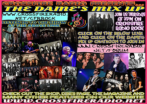 DAMES MIX UP ON CROSSFIRE RADIO ROCK