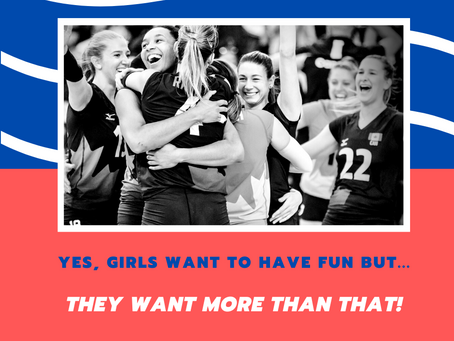 Yes, girls love have fun, but... they want more than that!