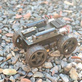 Stuck inside?  Build a robot!