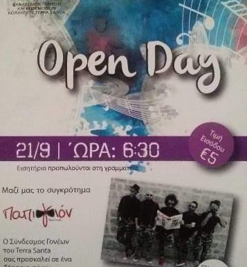 TERRA SANTA Open Day 2018