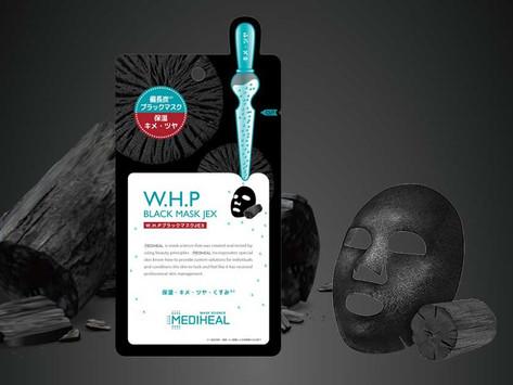 メディヒールシートマスク WHPチャコールミネラルマスク