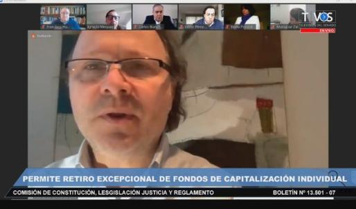 COMISIÓN DE CONSTITUCIÓN DEL SENADO APROBÓ EN GENERAL IDEA DE LEGISLAR RETIRO DE FONDOS DE LAS AFP