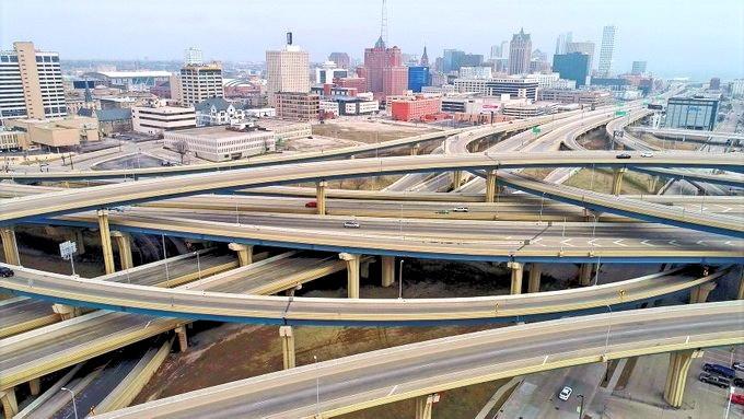 Marquette Interchange (Milwaukee Wisconsin)