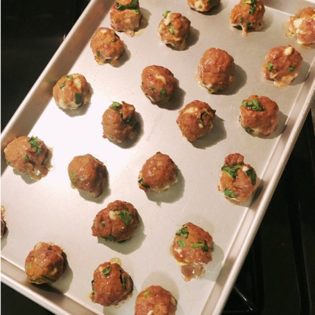 Healthy Baked Meatballs for Any Meal