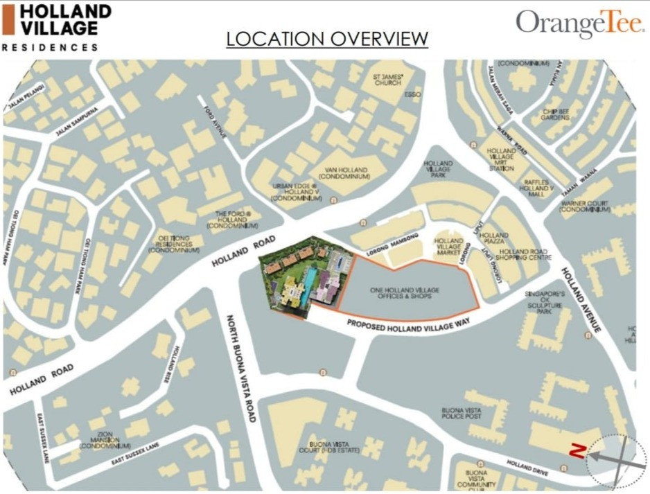 Where is One Holland Village Residences?