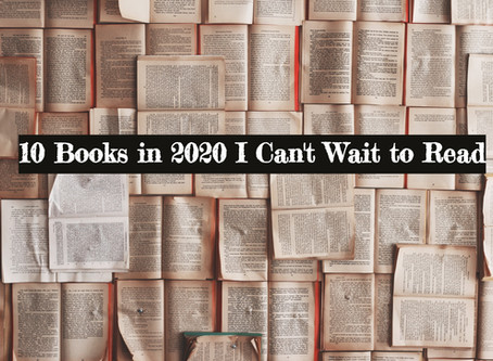 10 Books in 2020 I Can't Wait to Read (with release dates)