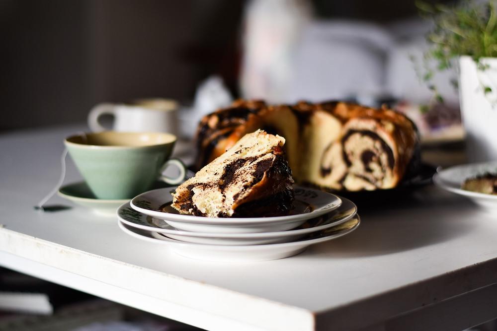 Babka με σοκολατένιο fudge