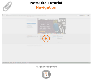 NetSuite navigation and overview tutorial