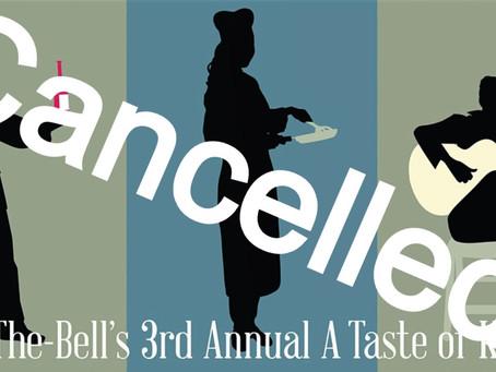 3rd AnnualA Taste of Kennett Cancelled