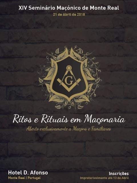 Maçonaria - XIV Seminário Maçónico de Monte Real