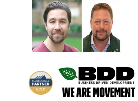 BDD and We Are Movement hosts meetup about the new release SAFe 5.0