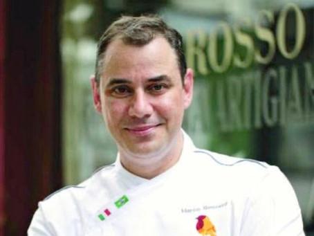 Tonnarelli cacio e pepe, um clássico do Lazio, feito por um chef desta região