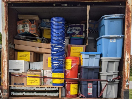 God is faithful: An update on the box truck