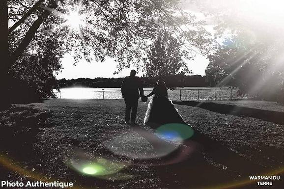 Je veux vivre cette aventure palpitante et trépidante qu'est le mariage avec toi...