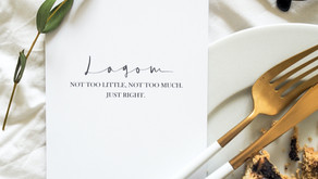 "How Swedish ""Lagom"" can inspire us to live a balanced life."
