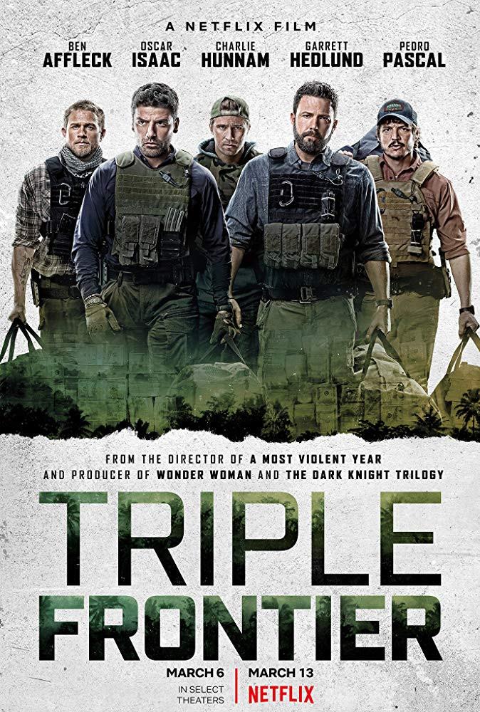 Triple Frontier Netflix film review UK