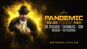 Pandemic / Dr Peacock - Paris, Glazart. 21/02/2020
