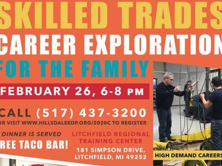 FREE! Skilled Trades Career Exploration