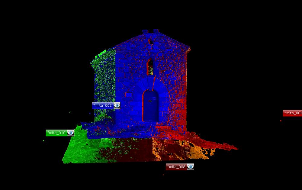 Nube de puntos - Modelo digital 3D