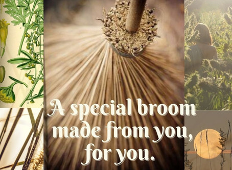 Broom Making Class: Strengthening connections with one of women's most powerful tool.