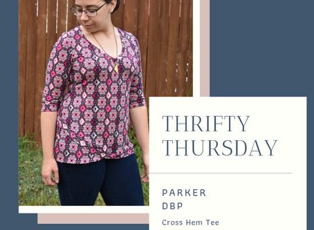 Thrifty Thursday - Parker DBP for the WWD Cross Hem