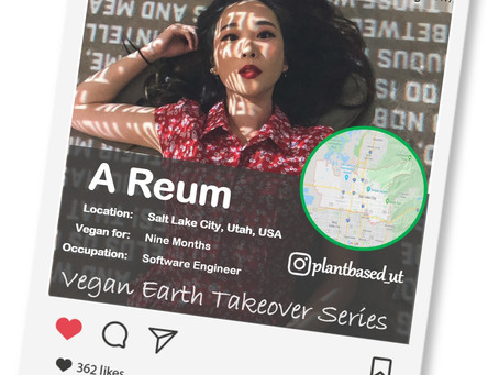 Introducing our Vegan of the week.....A Reum!🌎💚🌱