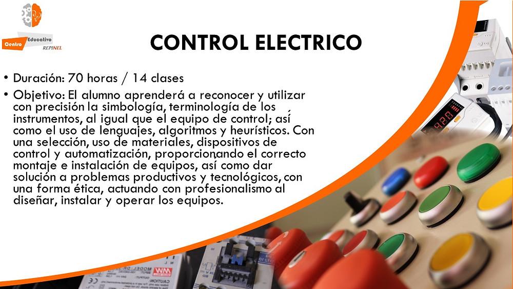 Curso de control electrico