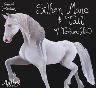 *~Mythril~* Silken Mane & Tail (Friesian)