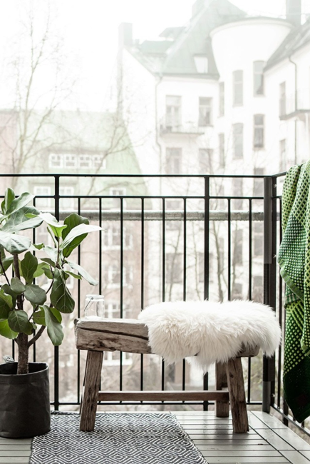 Wondering how to decorate your small balcony? Well, then we suggest you opt for space-saving furniture.