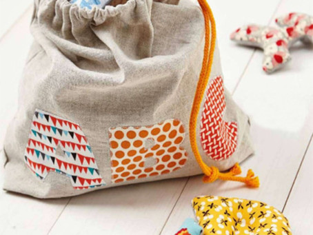 Easy Steps To Drawstring Bag | 11 Steps With Pictures | Great For Kids For Learning.