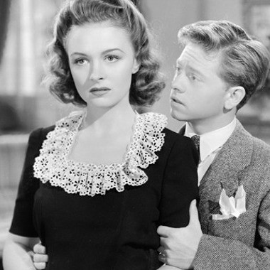 Donna Reed and Andy Rooney img