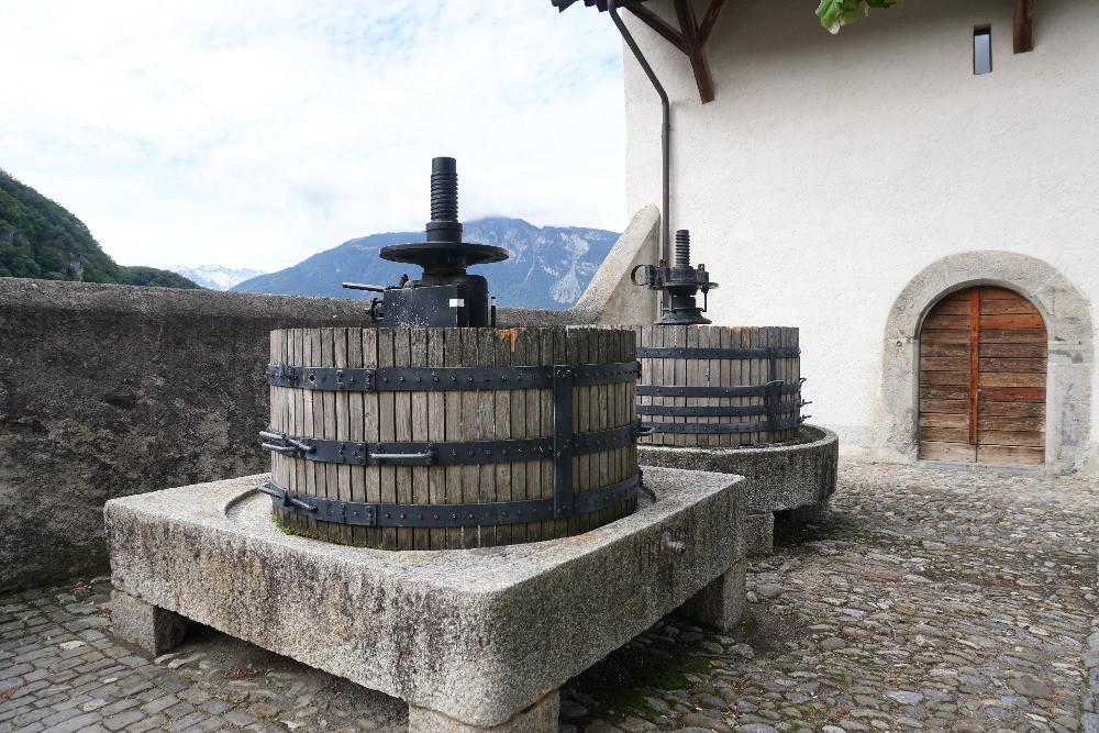 טירת איגל, שווייץ