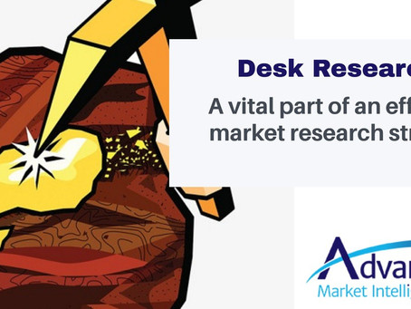 Desk Research - a Vital Part of an Effective Market Research Strategy
