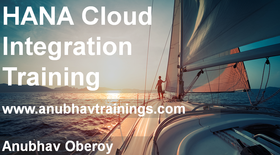 Hana Cloud Integration Training