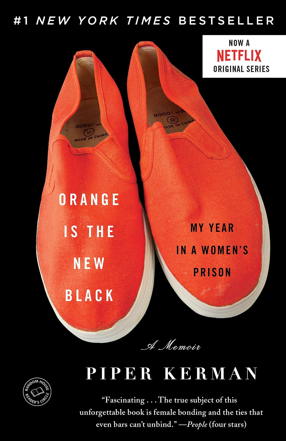 Orange Is The New Black by Piper Kerman : the book slut book reviews