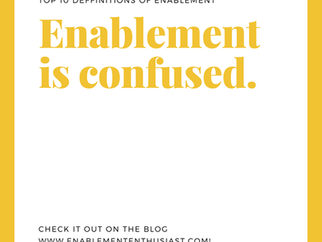Enablement is Confused.