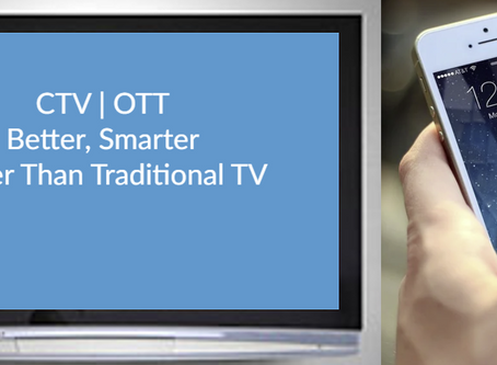 There is a lot of confusion surrounding CTV and OTT, rest assured they ARE different.