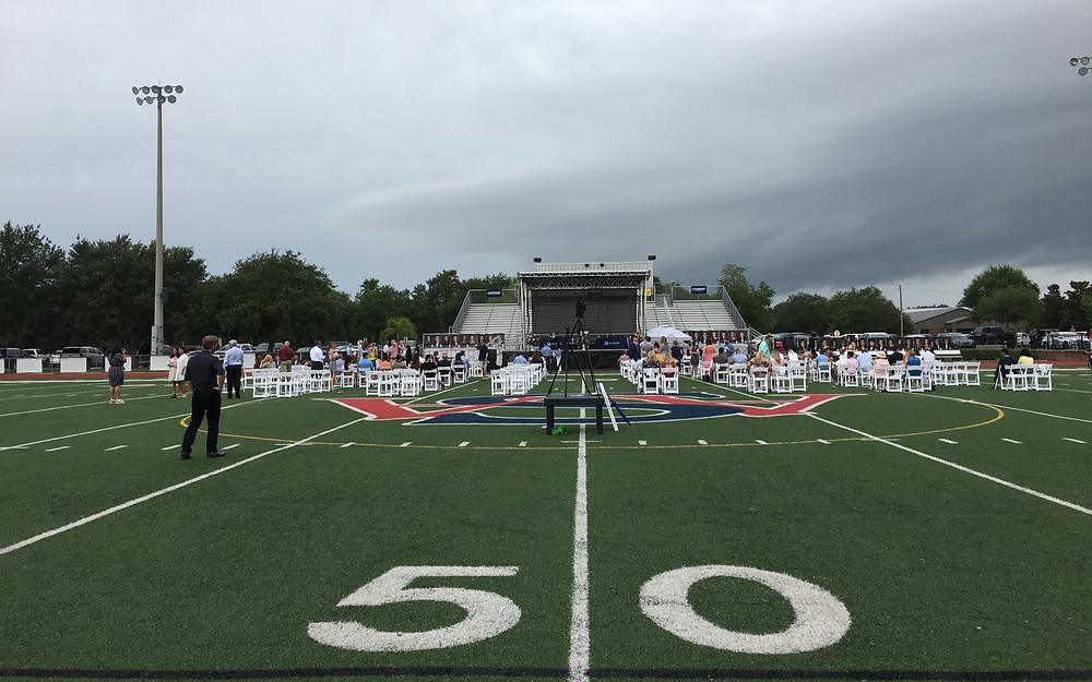 Graduation Ceremony w/ SL100 Socially Distanced
