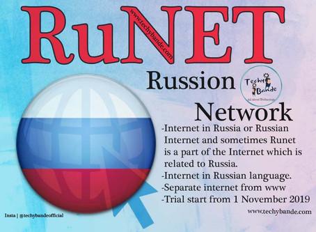 RUNET : Russion Internet/Network