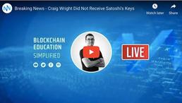 🎬 Nugget's News: Breaking News - Craig Wright Did Not Receive Satoshi's Keys